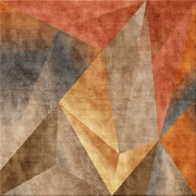 carpet in orange