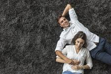 couple on carpet